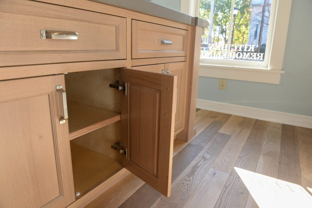 custom cabinetry features